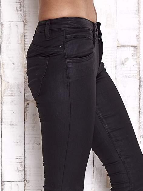 TOM TAILOR Czarne spodnie skinny jeans                                   zdj.                                  5