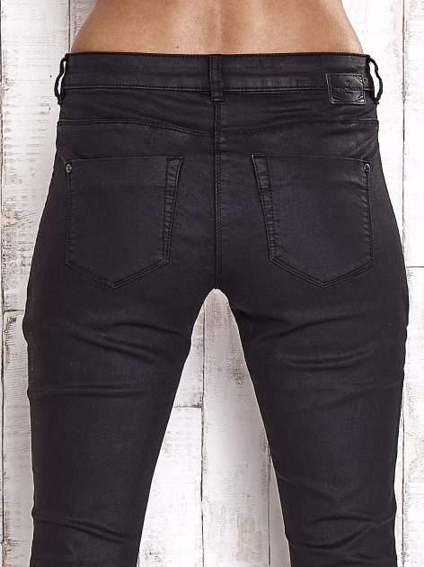 TOM TAILOR Czarne spodnie skinny z suwakami                                  zdj.                                  6