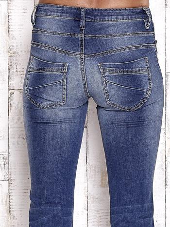 TOM TAILOR Niebieskie przecierane spodnie boyfriend jeans                                   zdj.                                  6