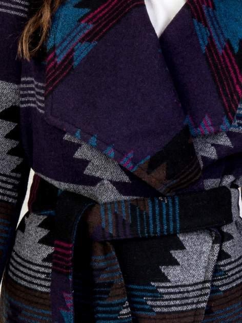 TOM TAILOR Płaszcz z szerokim kołnierzem w azteckie wzory                                  zdj.                                  6