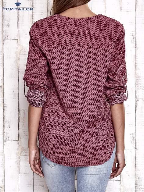 TOM TAILOR Różowa koszula w drobne wzory                                  zdj.                                  2