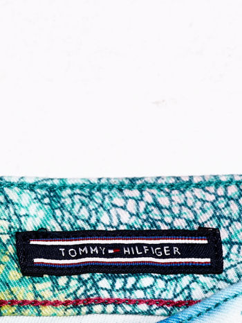 TOMMY HILFIGER Spodnie w roślinne wzory                                  zdj.                                  4