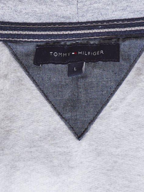 TOMMY HILFIGER Szara ocieplana bluza męska                               zdj.                              7
