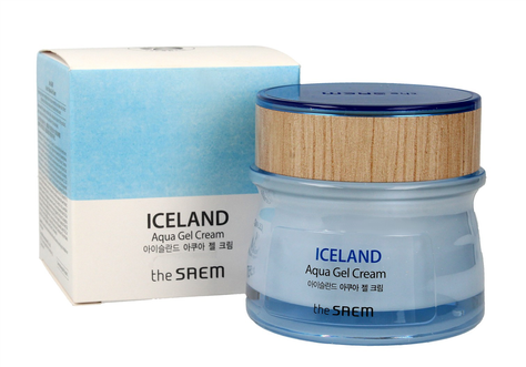 The SAEM Iceland Aqua Gel Cream Krem-żel do twarzy  60ml""