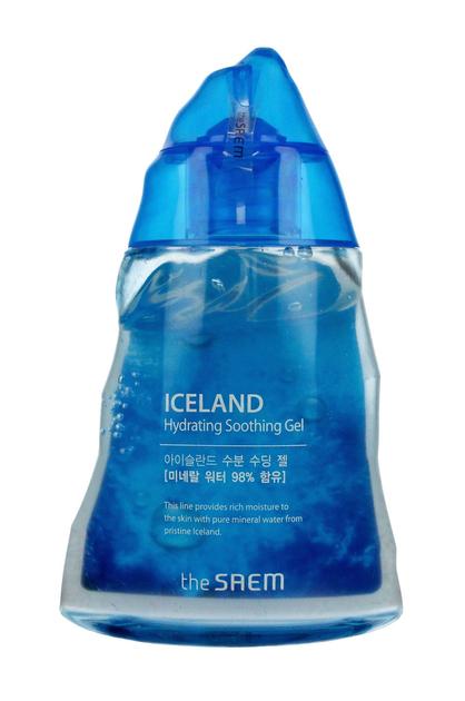 The SAEM Iceland Hydrating Żel kojąco-nawilżający do twarzy i ciała 150 ml