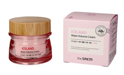 """The SAEM Iceland Water Volume Cream Krem nawilżający do twarzy - cera sucha  80ml"""""""