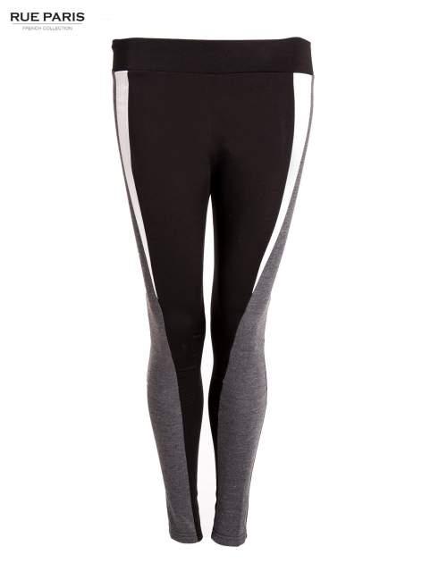 Trójkolorowe legginsy modelujące ultra slim                                  zdj.                                  1