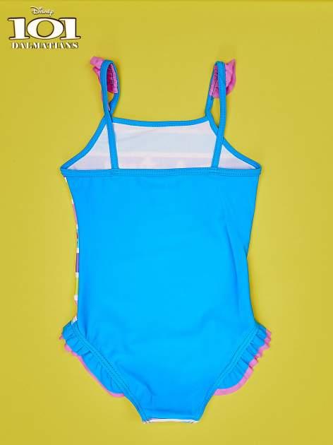 Turkusowy strój kąpielowy dla dziewczynki 101 DALMATYŃCZYKÓW