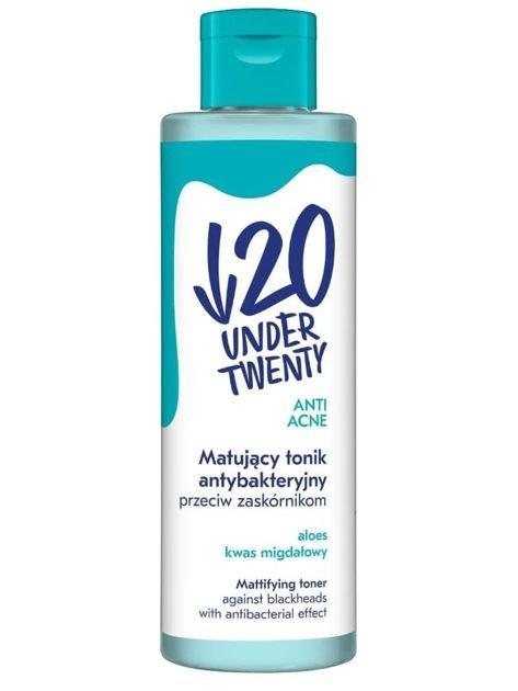 Under Twenty ANTI! ACNE Matujący tonik antybakteryjny - cera wrażliwa 200 ml