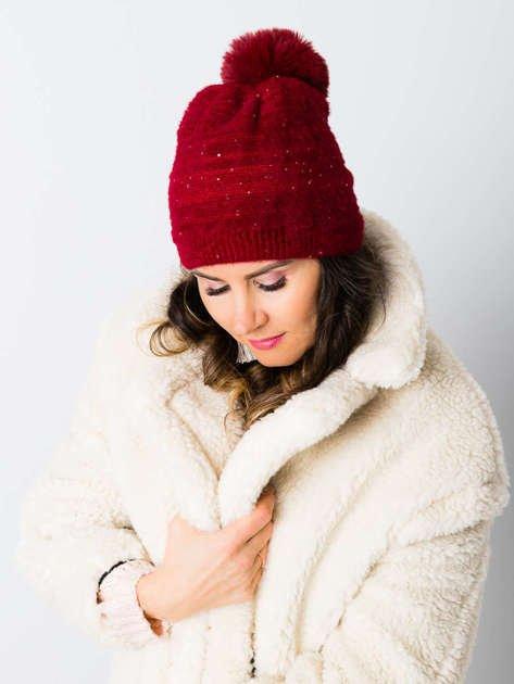 V&T Winter Fashion Czarna Ocieplana Czapka Męska                              zdj.                              3