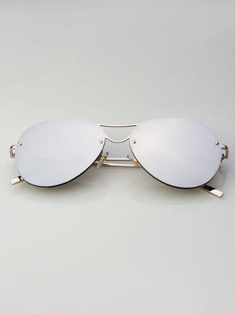 VICS Okulary przeciwsłoneczne lustrzanki+ miękkie etui gratis                              zdj.                              3