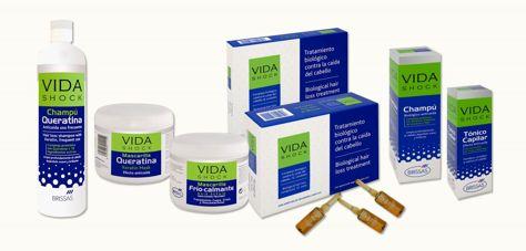 VIDA SHOCK Profesjonalne ampułki przeciw wypadaniu włosów biologiczna kuracja 24x10ml                              zdj.                              3