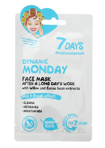 """VILENTA 7 Days Maska na twarz oczyszczająca Dynamic Monday  28g"""""""