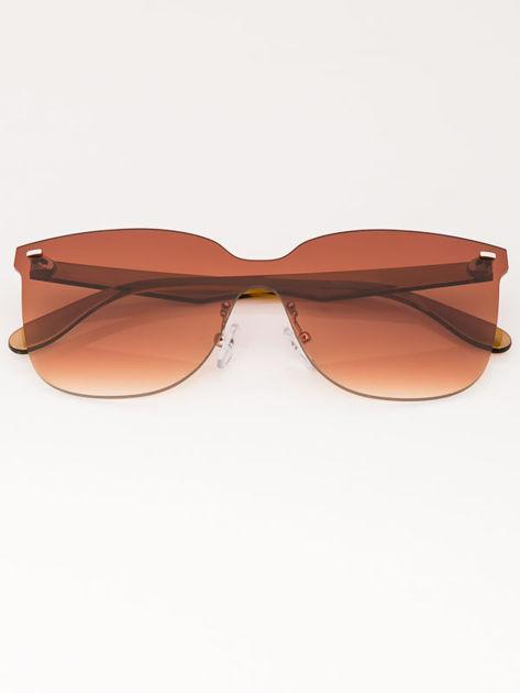 VIP LIFE Okulary przeciwsłoneczne damskie brązowe szkło brązowe                              zdj.                              1
