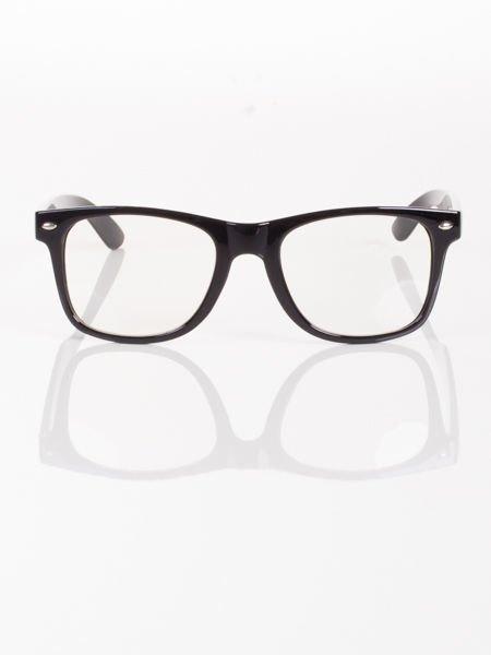 WAYFARER NERD modne okulary zerówki ,doskonały akcent twojego wizerunku !                                  zdj.                                  1