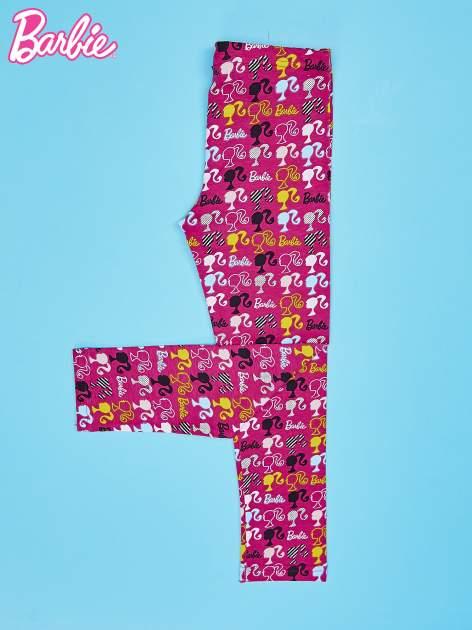 Wielokolorowe legginsy dla dziewczynki BARBIE                                  zdj.                                  2