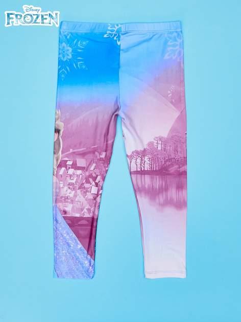 Wielokolorowe legginsy dla dziewczynki KRAINA LODU                                  zdj.                                  2
