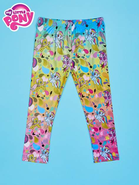 Wielokolorowe legginsy dla dziewczynki MY LITTLE PONY                              zdj.                              1