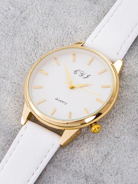 Zegarek damski biały                              zdj.                              2