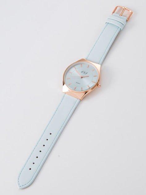 Zegarek damski błękitny                              zdj.                              3