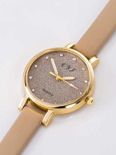 Zegarek damski glitter capuccino                              zdj.                              2
