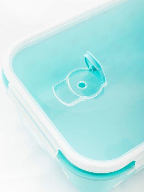 Zestaw jasnoniebieskie pojemniki do żywności 5 elementów                              zdj.                              7