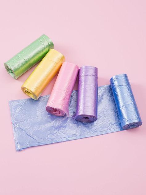 Zestaw kolorowych worków na śmieci                              zdj.                              2
