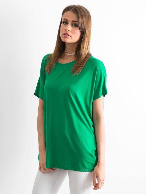 Zielona bluzka Oversize                              zdj.                              3