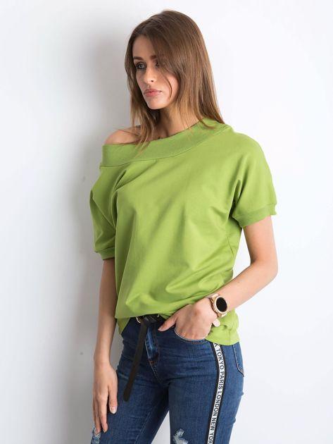 Jasnozielona bluzka Lemontree                              zdj.                              3