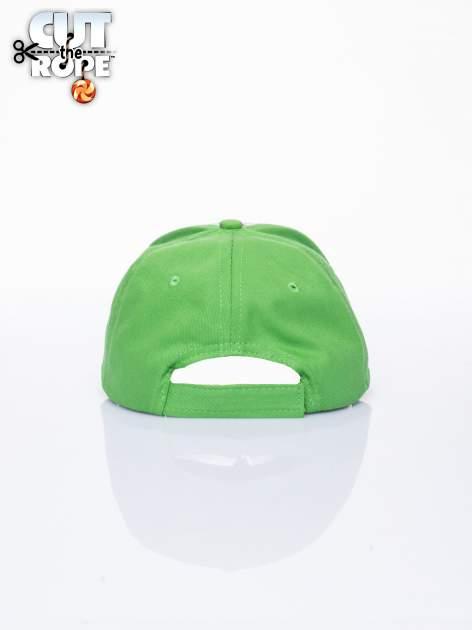 Zielona chłopięca czapka z daszkiem CUT THE ROPE                                  zdj.                                  3
