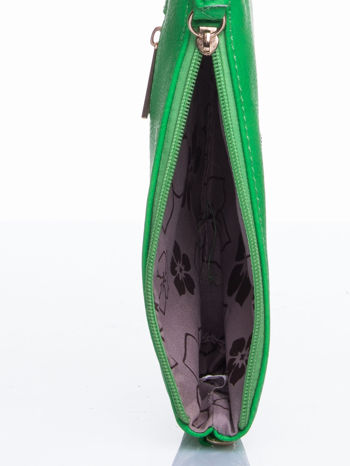 Zielona kopertówka z dżetami napis LUCY WORLD                                  zdj.                                  6