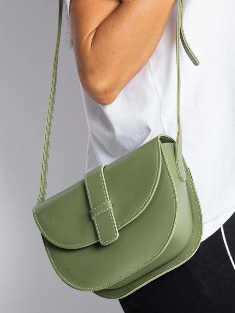 Zielona mała torebka miejska                              zdj.                              1
