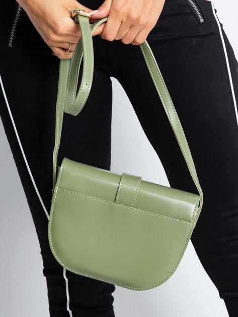 Zielona mała torebka miejska                              zdj.                              2