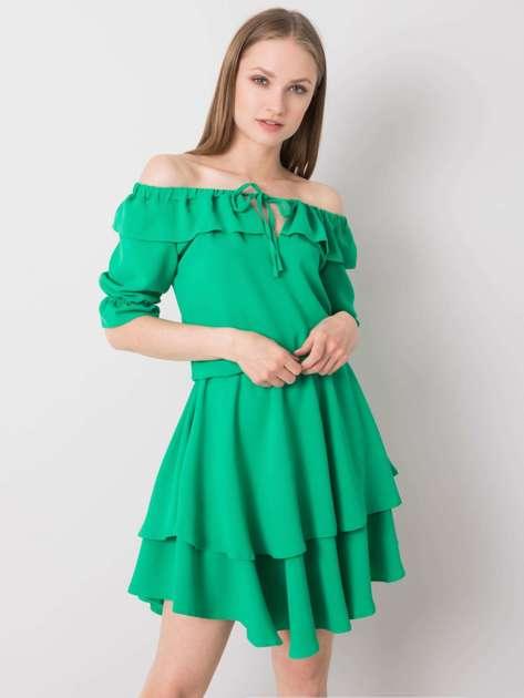 Zielona sukienka Bella RUE PARIS