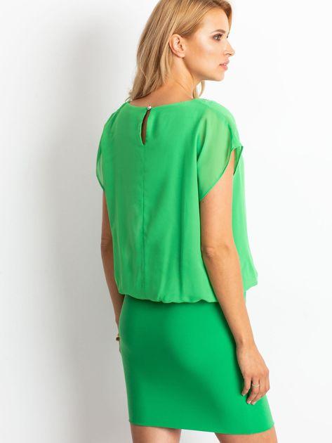 Zielona sukienka Light                              zdj.                              2