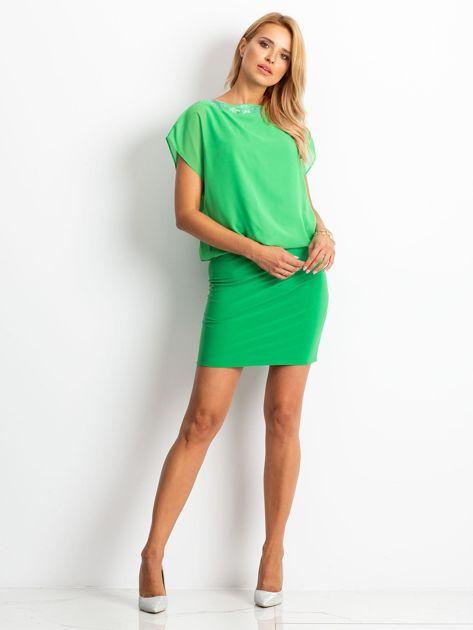 Zielona sukienka Light                              zdj.                              4