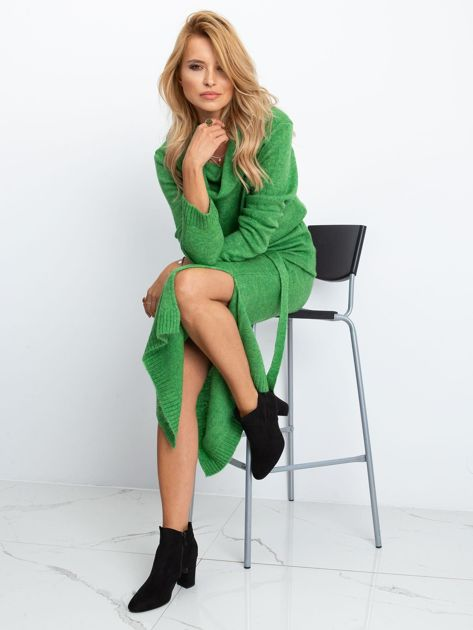 Zielona sukienka Peace                              zdj.                              5