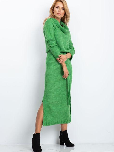 Zielona sukienka Peace                              zdj.                              4