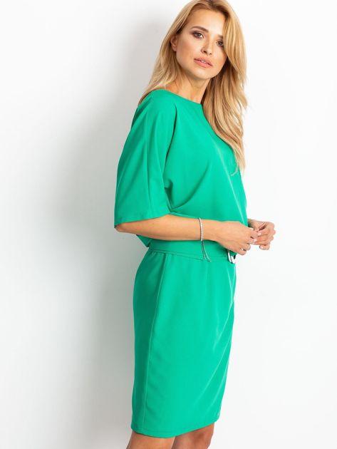 Zielona sukienka Soft                              zdj.                              3