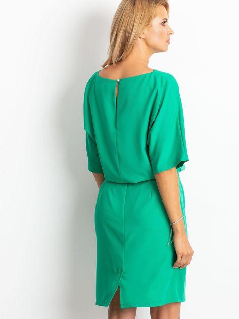 Zielona sukienka Soft                              zdj.                              2