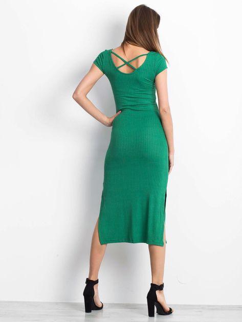 Zielona sukienka Touching                              zdj.                              2