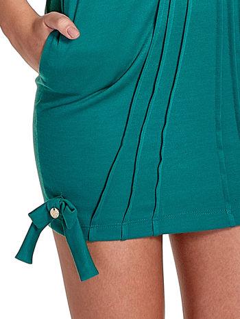 Zielona sukienka z kokardkami                                  zdj.                                  6