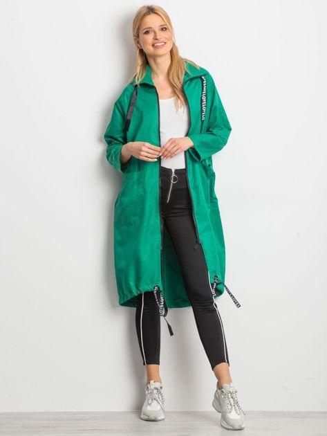 Zielony płaszcz Flatscreen                              zdj.                              1