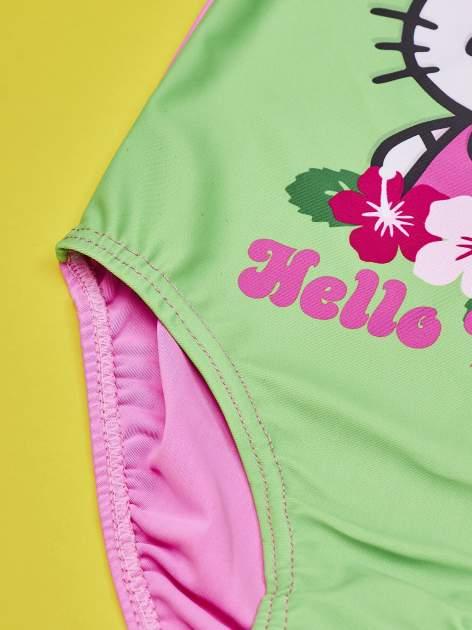 Zielony strój kąpielowy dla dziewczynki HELLO KITTY                                  zdj.                                  4