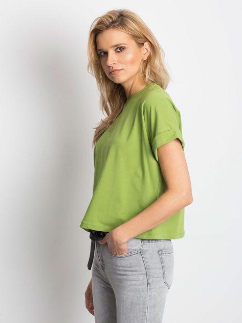 Zielony t-shirt Woodland                              zdj.                              3