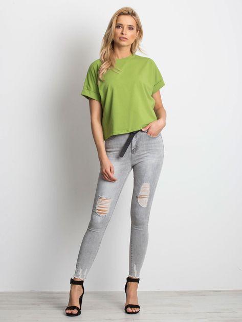 Zielony t-shirt Woodland                              zdj.                              4
