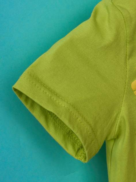 Zielony t-shirt chłopięcy KRÓL JULIAN                                  zdj.                                  6