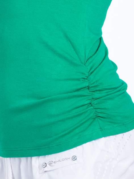 Zielony top sportowy z cekinami                                  zdj.                                  6