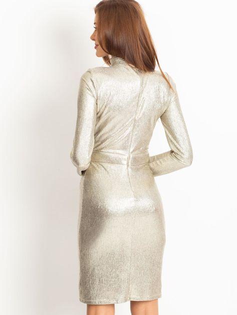 Złota sukienka Sparkle                              zdj.                              2