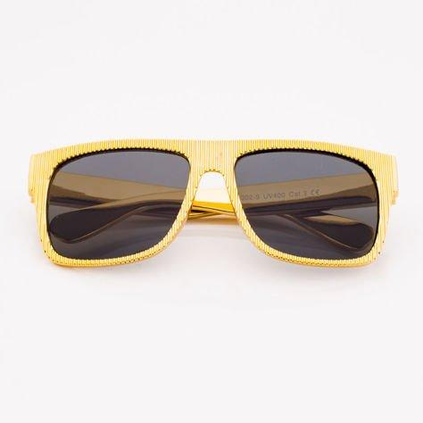 Złote Dziecięce Okulary przeciwsłoneczne                              zdj.                              1